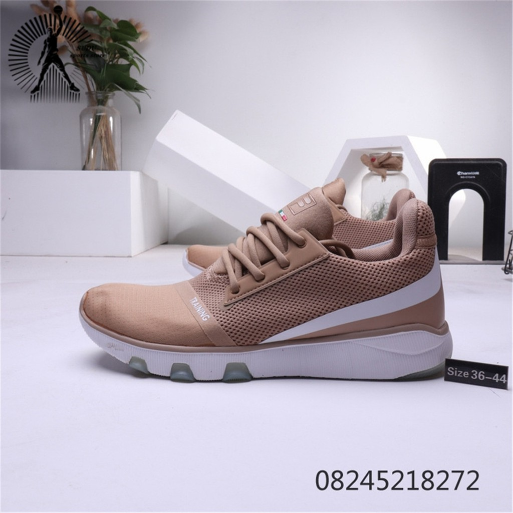 ของแท้จาก FILA รองเท้าผู้หญิงแฟชั่นรองเท้าผ้าใบรองเท้าวิ่งรองเท้าผู้ชาย184