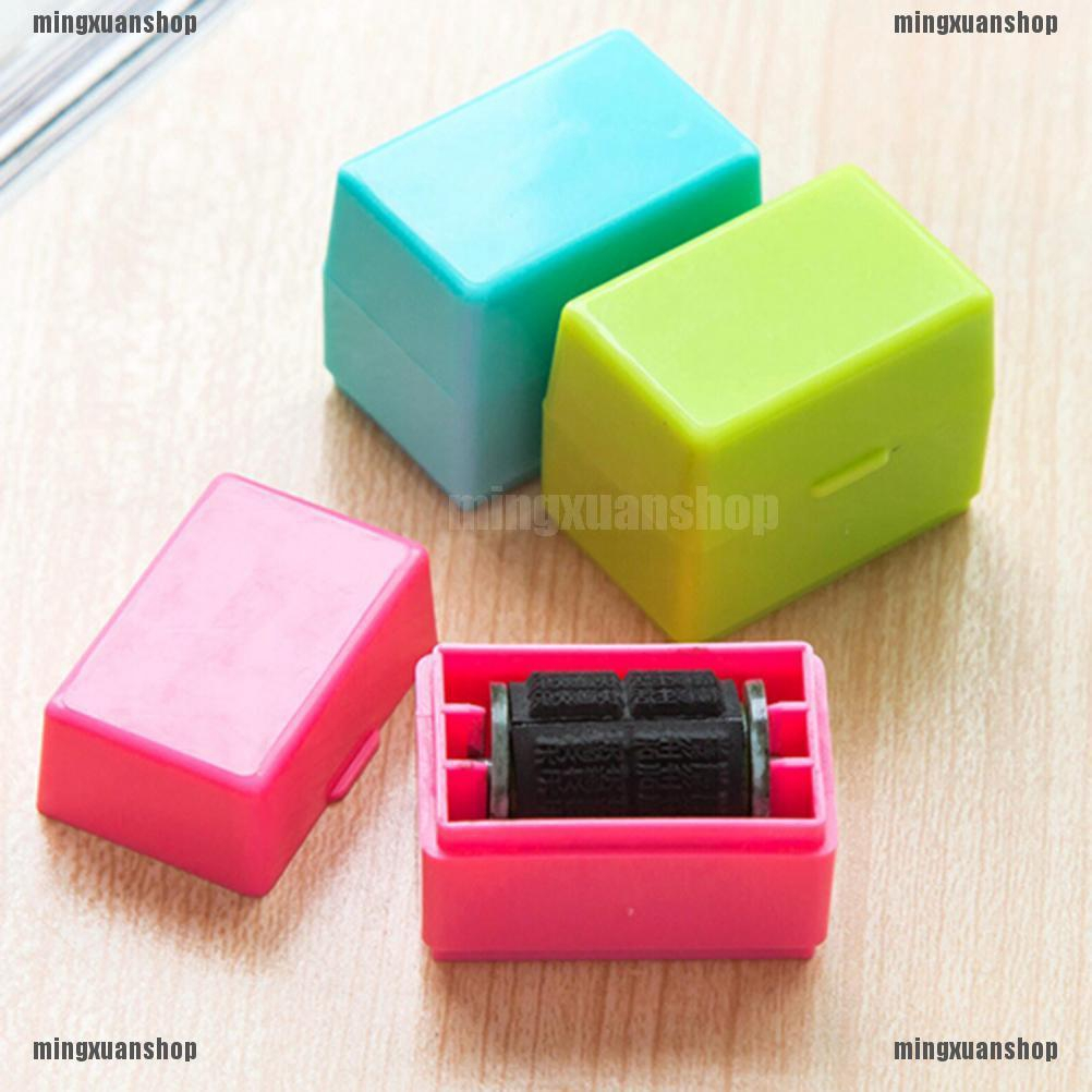 Shiny Approved 14 /× 38 MM Self Inking Rubber Rectangle Stamp Office Stationary Also Custom Stamps are Available in 4 Colours Red Blue Black and Violet