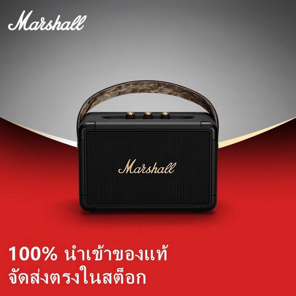 Marshall ลำโพงบลูทูธ - Marshall Kilburn II-Black 35w1