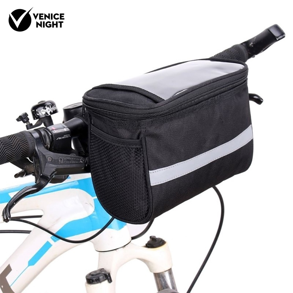 Pouch Holder Front Package Bike Beam Pocket Bicycle Bags Triangle Bicycle Bag