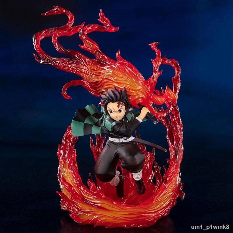 ราคาต่ำสุด♝☋☁ฟิกเกอร์ Demon Slayer Blade Figure Figuarts ZERO Demon Slayer Kizuna Suit Anime Peripheral Collection Model