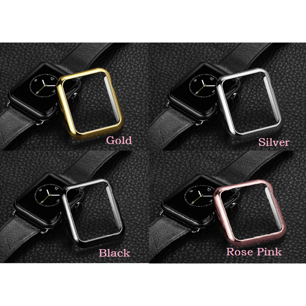 Apple Watch 38MM 40MM 42MM 44MM slim PC hard Case Cover for iWatch Series 6 SE 5 4 3 2 1