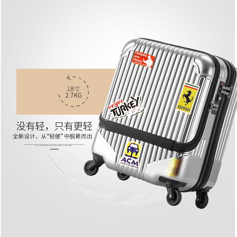 ผ้าคลุมกระเป๋าเดินทาง 【ZEAL】3สีสวย18-นิ้วABS+PCแนวโน้มธุรกิจความจุขนาดใหญ่เปิดกระเป๋าเดินทางกระเป๋าเดินทางกระเป๋าเดินทาง