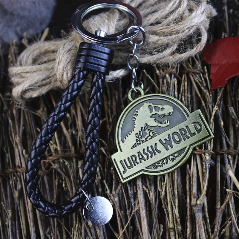 พวงกุญแจโลหะรูปไดโนเสาร์ Jurassic World 2 สําหรับผู้ชายและผู้หญิง.