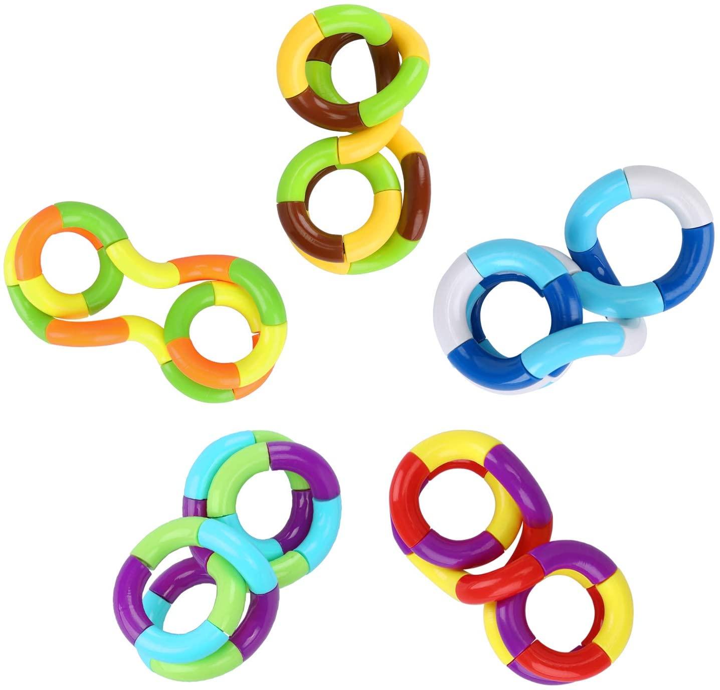 Fidget Fiddle Twist String Tangles Toys Relax Anxiety Stress ADHD Sensory Aid;