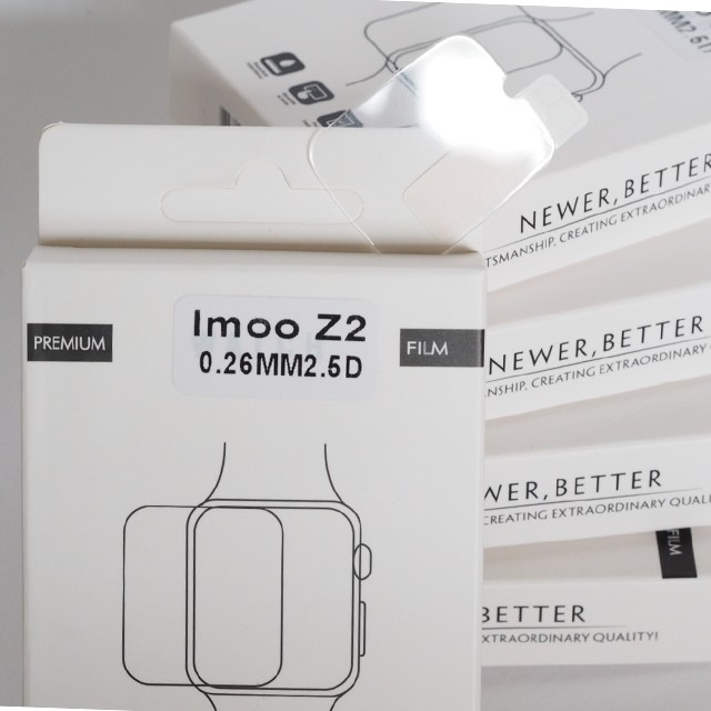 ℡ฟิล์มกระจก IMOO Z2 (ตรงรุ่น-ไม่เต็มจอ-เว้นกล้อง) (รุ่นเทียบ-เต็มจอ-ทับกล้อง) Z3 Z5 Z6 นาฬิกาโทรศัพท์ไอมู่ ไอโม่ ไอโม