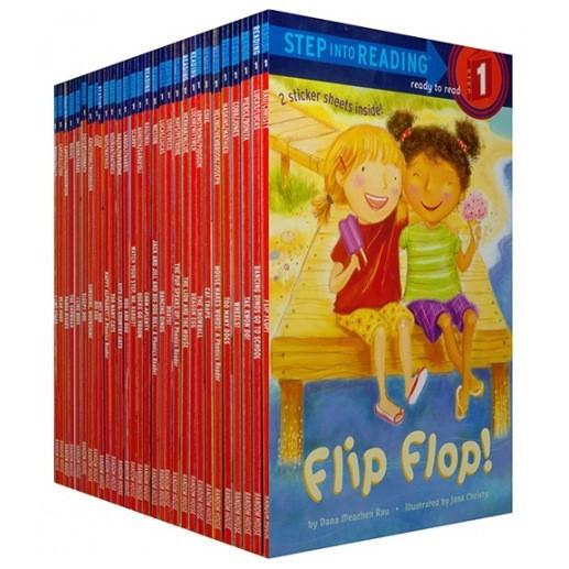 30 Books Step Into Reading Level 1 Children Boy Story Books FAn9