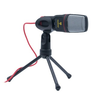 Review NUBWO MICROPHONE (ไมโครโฟน)  M66 CONDENSER MICROPHONE (RED)