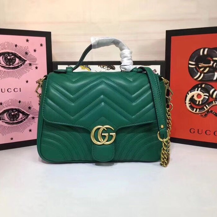 Trend Fashion Spring and Summer เทรนด์แฟชั่นใหม่ New Hot Sale 498110 New GUCCI GG Ma
