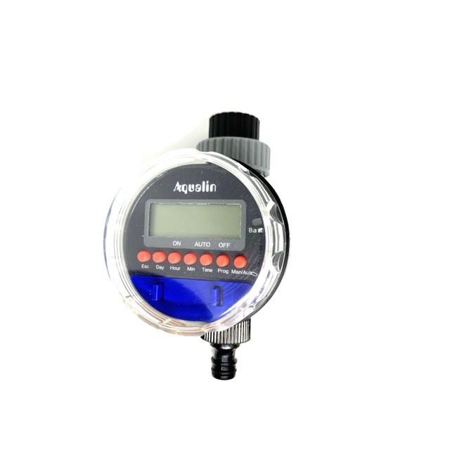 ◊◐เครื่องตั้งเวลารดน้ำ ดิจิตอล ตัวตั้งเวลารดน้ำ อุปกรณ์ควบคุมตั้งเวลารดน้ำต้นไม้ อัตโนมัติ Aqualin water timer