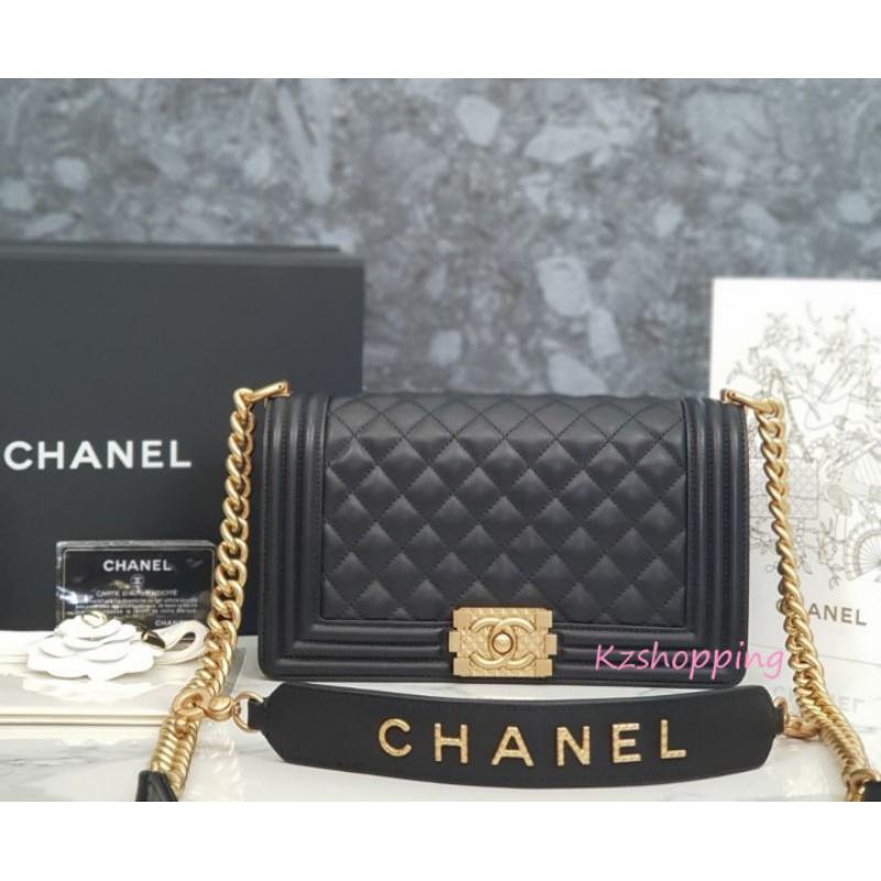 [กระเป่า]กระเป่า*Chanel Boy2020 Lamp Skin VIP