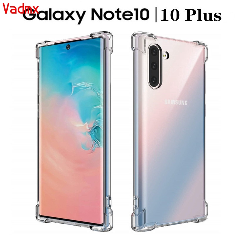Samsung Galaxy Note 10 J6 J4 A8 A6 Plus J8 A9 A7 2018 A8S A6S C9 C7 C5 Pro A60 M30 M20 Case Clear Soft Protective  Cover