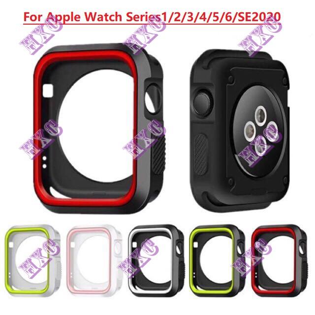 เคส Apple Watch,เคสกันกระแทก แอปเปิ้ลวอช 38mm 40mm 42 44mm, Anti-knock Case For Apple Watch Series 1 / 2 / 3 /4/5/6/SE2020