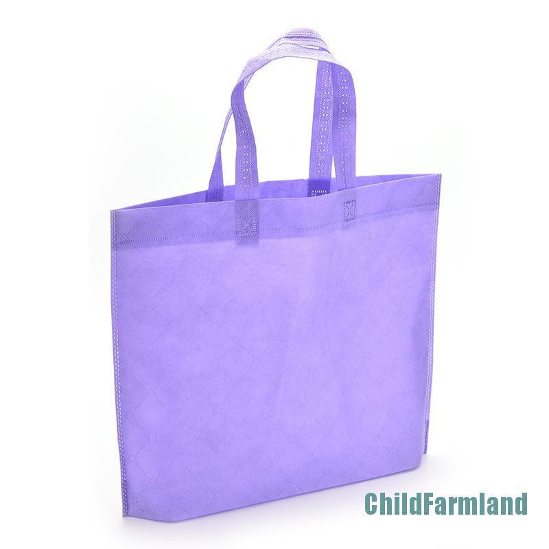 ( Kidfarmland ) Eco กระเป๋าถือกระเป๋าสะพายไหล่ Tote เหมาะกับการพกพาเดินทางช็อปปิ้ง