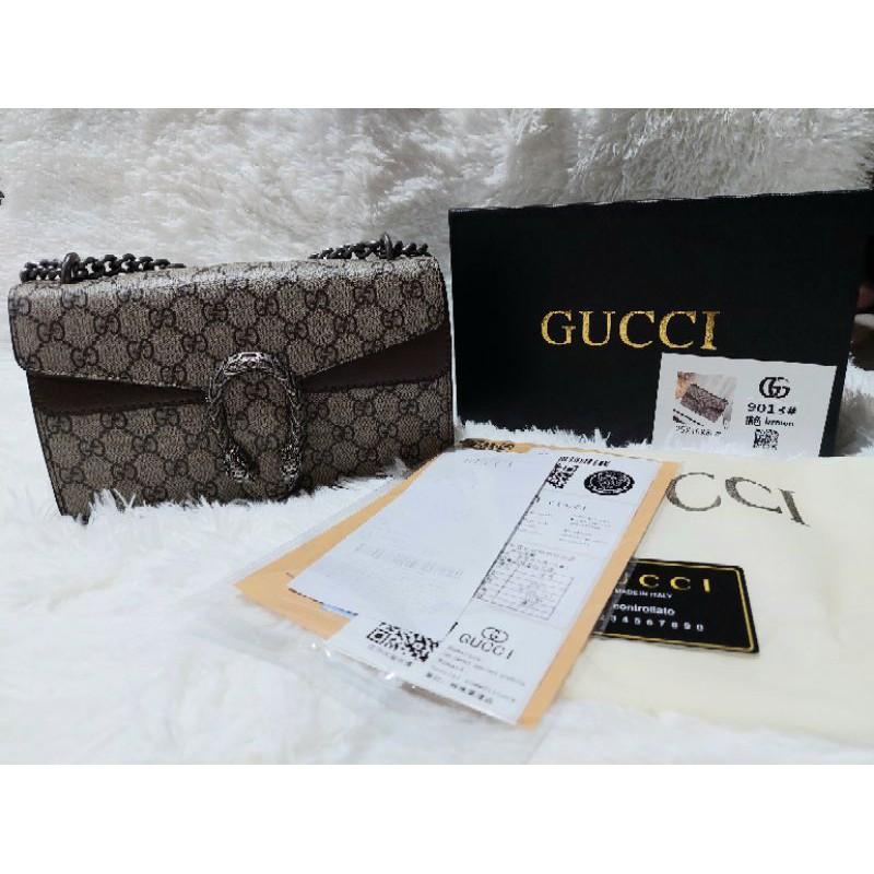 🔥 อุปกรณ์ครบ 🔥New Gucci super  dionysus งานเนียบ ปั้มแบรนด์ทุกจุด⚠️