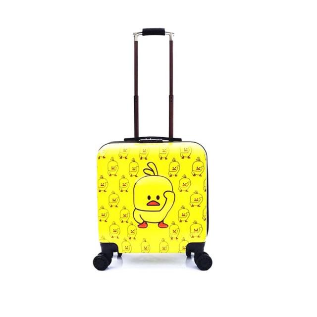 กระเป๋าเดินทางเป็ดเหลือง (มีของพร้อมส่งจ้า)