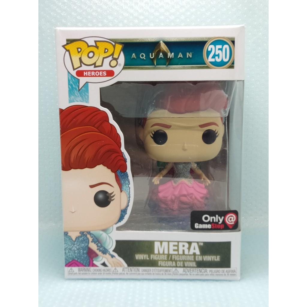 Aquaman Movie: Mera Figure #246 Funko POP DC Heroes IN STOCK