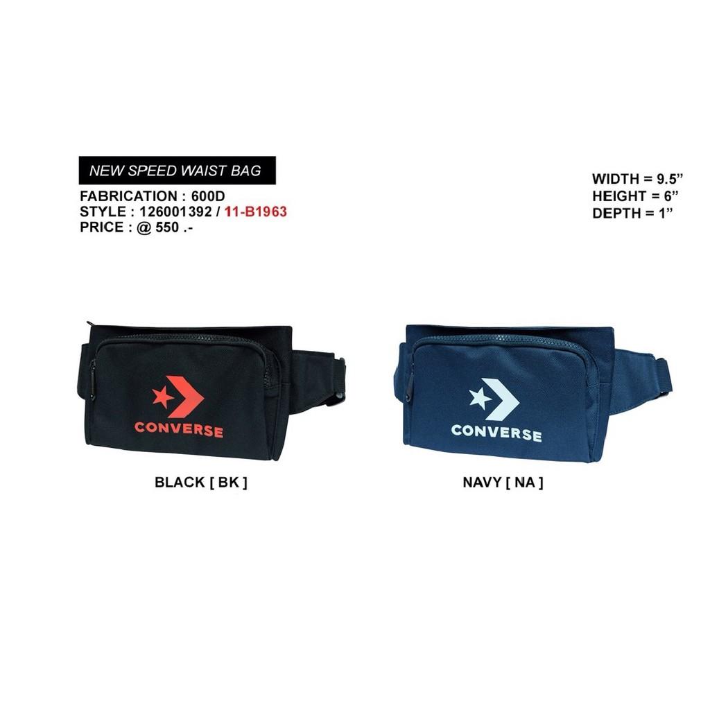 10008e01b7 CONVERSE กระเป๋าสะพายข้าง unisex รุ่น Sporty bag คละสี