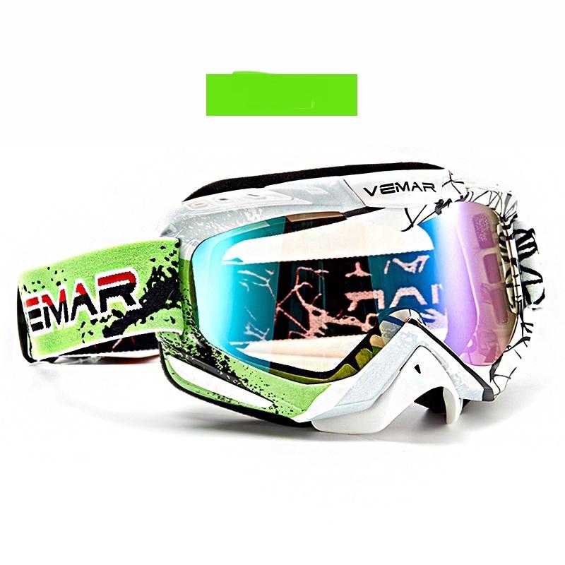แว่นตารถจักรยานยนต์ผู้ชายปิดถนนหมวกกันน็อคแว่นตาทรายและฝุ่นแว่นตาสกีแว่นตา