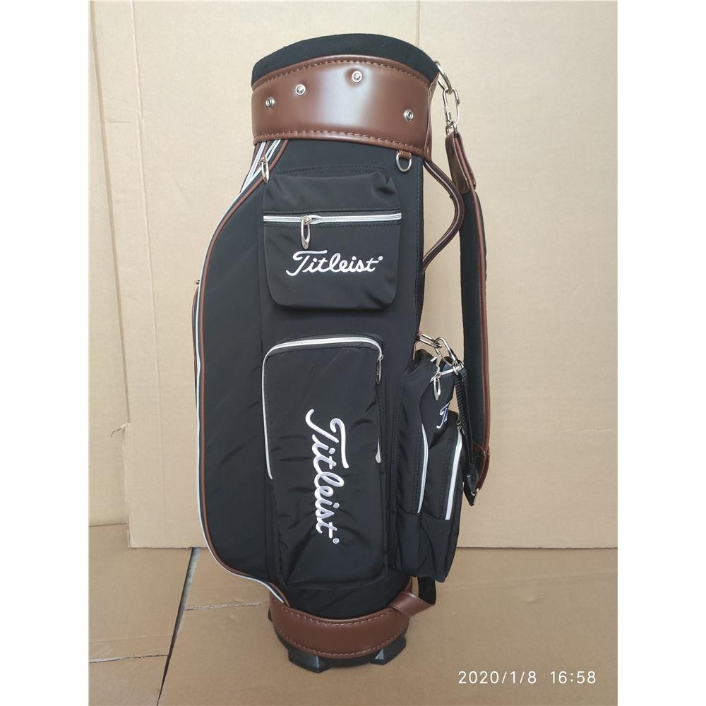 Titleist ใหม่ถุงผ้ากอล์ฟสำหรับผู้ชายและผู้หญิงที่มีสไตล์, ถุงกอล์ฟลูกกอล์ฟที่มีน้ำหนักเบา