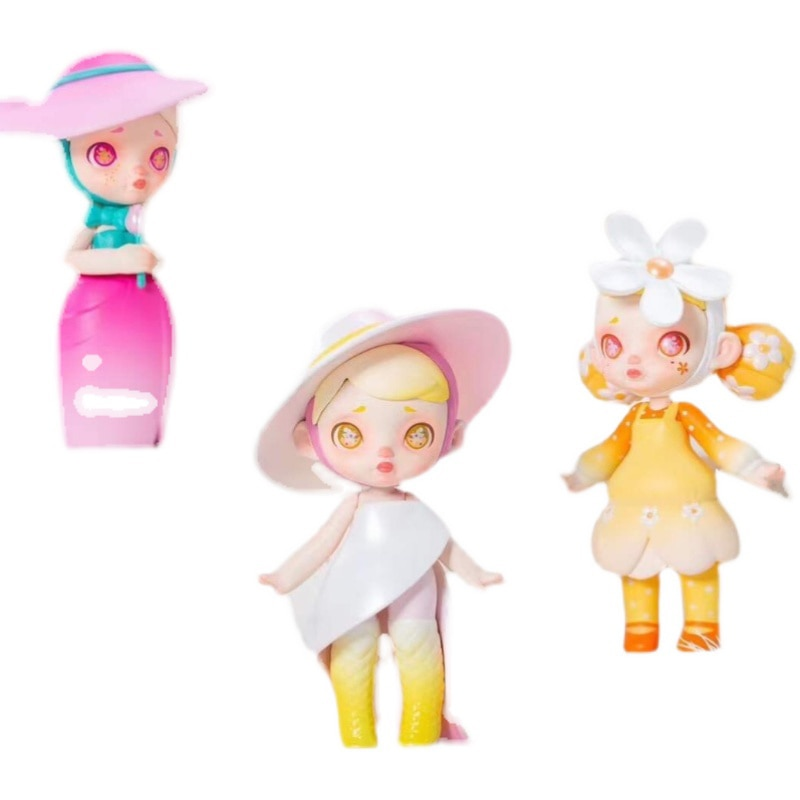 Blind Box 13 Style Anime Figure Adorable Laura Fashion Second Series Kawaii Toys Surrise Random Garage Kit Doll Gift 12c