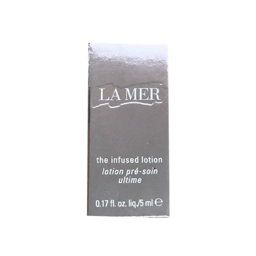 La Mer the infused lotion 5ml (1 กล่อง)
