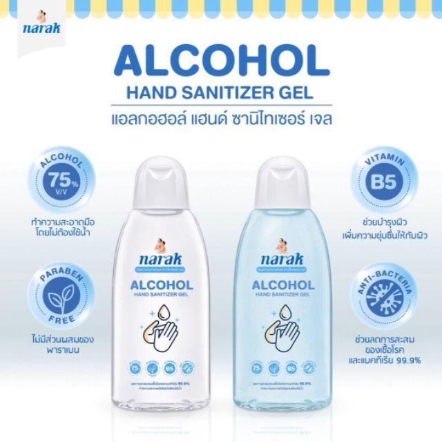เจลล้างมือสำหรับเด็ก แอลกอฮอล์ 75% ขนาด 45 ml