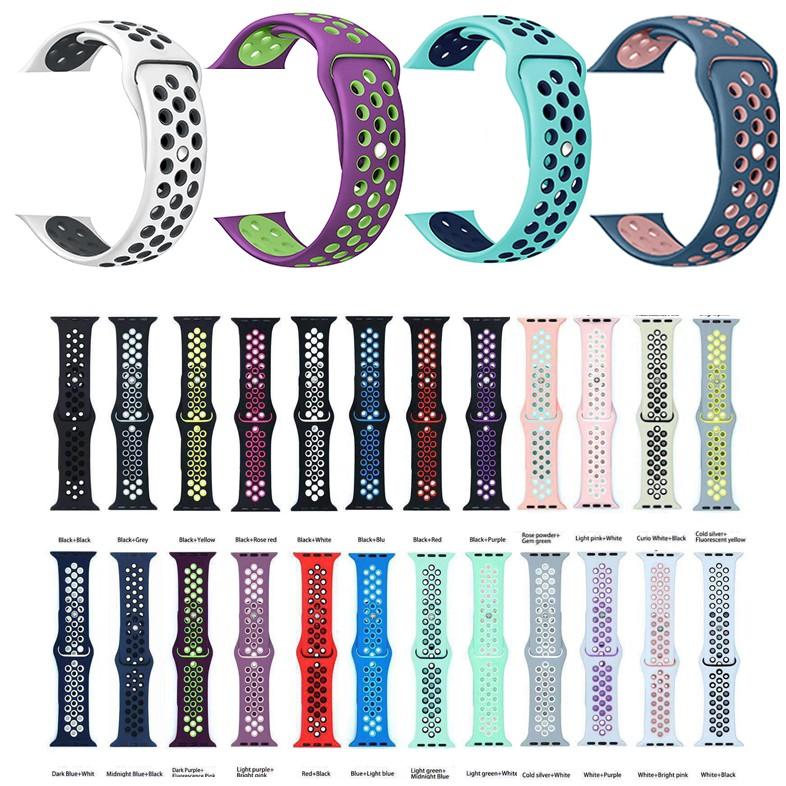 สายนาฬิกาข้อมือ Apple Watch Series 5 / 4 / 3 / 2 / 1 Nike 38 มม . 40 มม . 42 มม . 44 มม . NNyf
