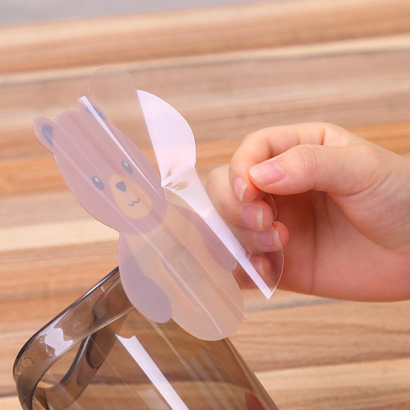 YIWUSHOP ปลีก/ส่ง 10018 ที่เก็บแปรงสีฟัน ที่ใส่แปรงสีฟัน แก้วใส่แปรงสีฟัน ลายหมีน้อยน่ารัก