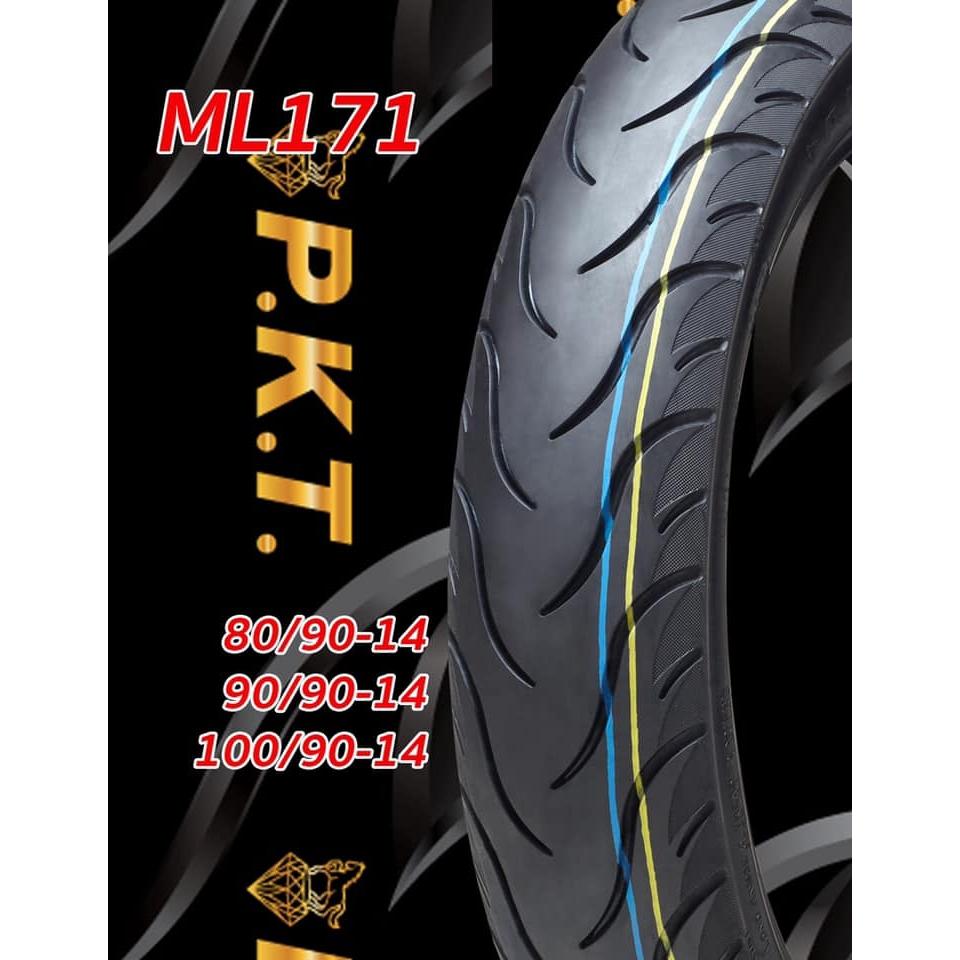 ยางนอก 100/90-14 PKT ML171 TL (ยางเรเดียล), ยางนอก PCX 125, PCX 150 ล้อหลัง