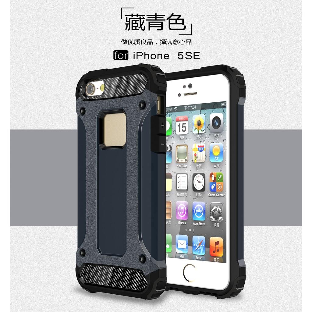 เคสโทรศัพท์มือถือ Tpu แบบสองชั้นสําหรับ Iphone 5se