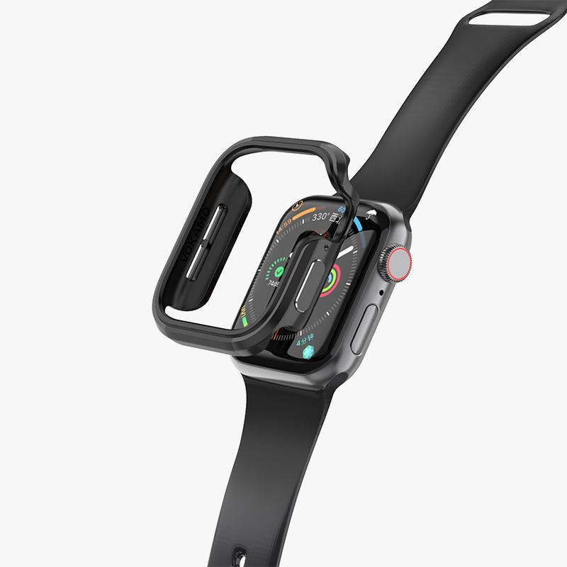 แนะนำให้ใช้vokamoสำหรับAPPLE WATCH 6 Generation iWatch Case Metal shock Apple Watch 40mm/44mm All Inclusive applewatch4/
