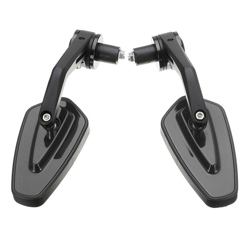 XMT-MOTO Pair 8mm 7//8 Motorcycle Handlebar Mirror Mount Holders Adapter Aluminum Clamp