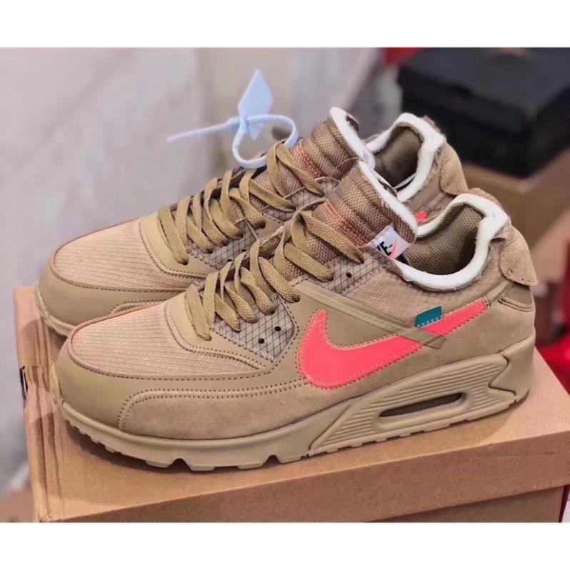 Nike Airmax 90 X รองเท้าผ้าใบสีขาว