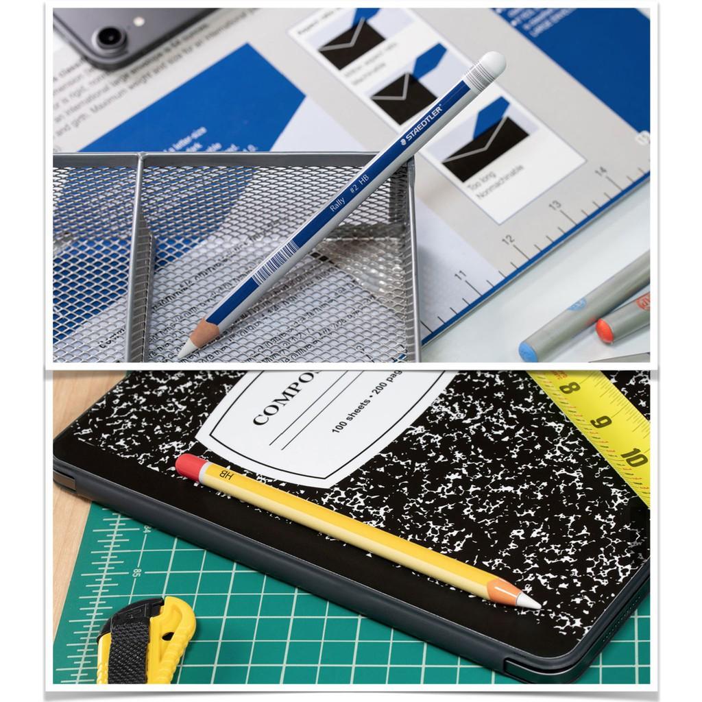 ●สติกเกอร์ Apple Pencil Wrap Gen 1 และ 2 ธีมดินสอ HB (งานใหม่ล่าสุด)1 oRJM