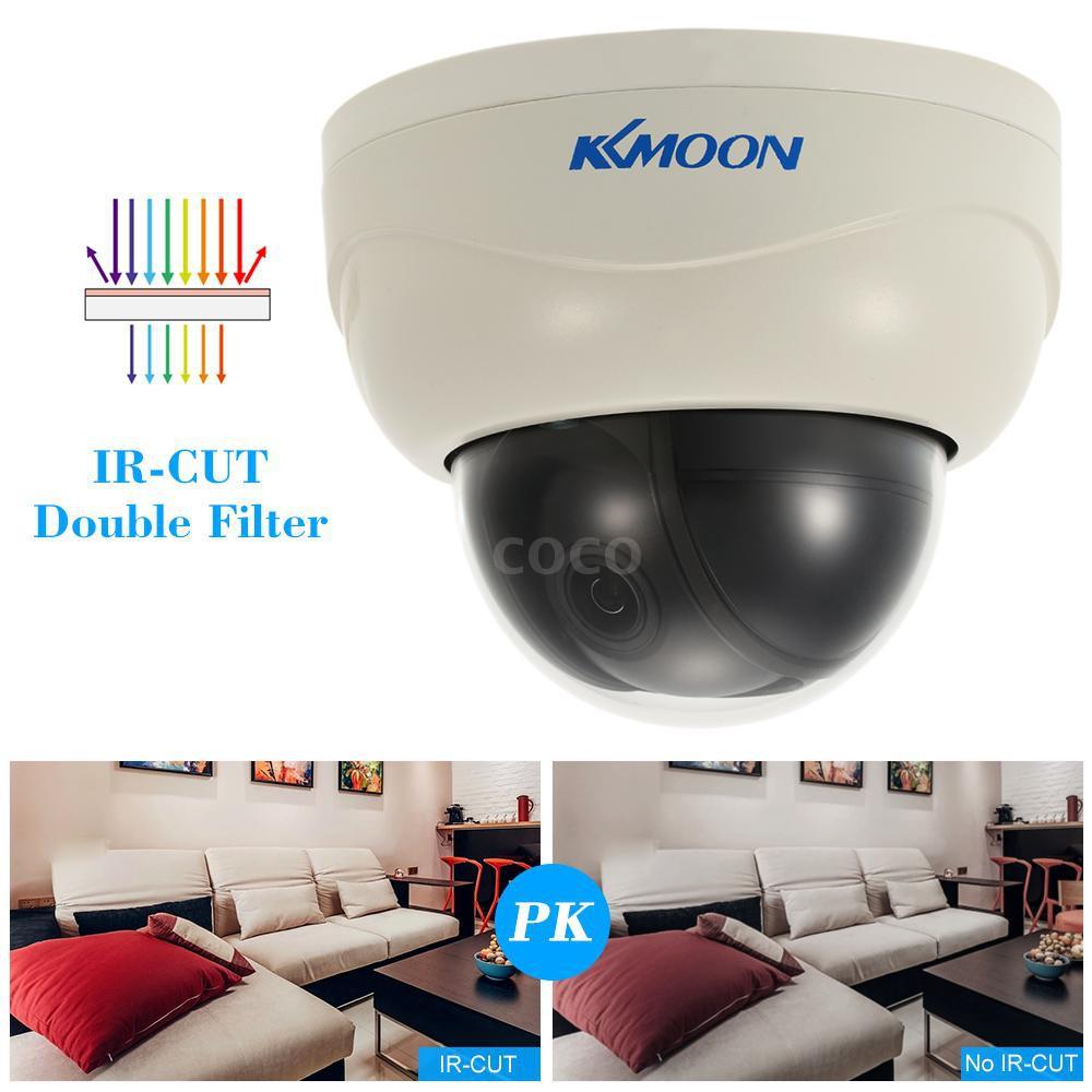 "KKmoon 3'' AHD 1080P Dome PTZ CCTV Camera 2 8~8mm Auto-Focus Manual  Varifocal Zoom Lens 2 0MP 1/3"" for Sony CMOS IR-CUT"