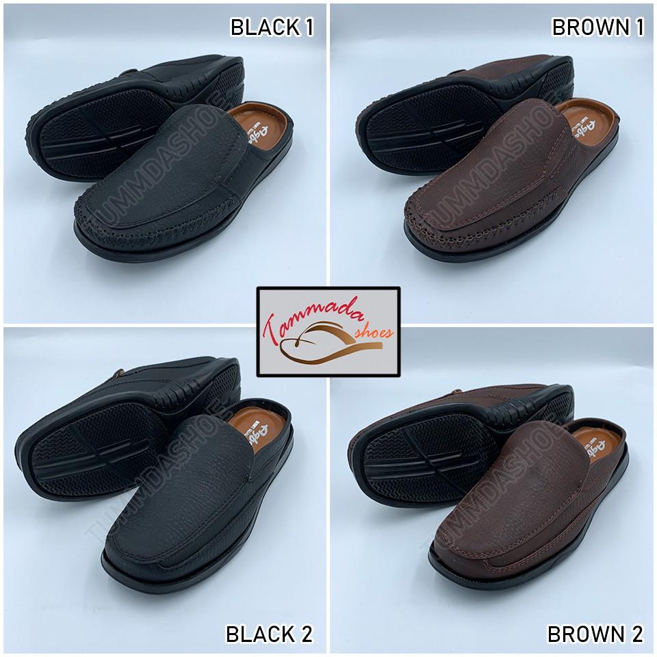 Agfasa รองเท้า อาฟาซ่า รองเท้าคัชชูผู้ชาย รองเท้าคัชชูหนังผู้ชาย รองเท้าคัชชูเปิดส้นผู้ชาย รองเท้าคัชชูทำงาน