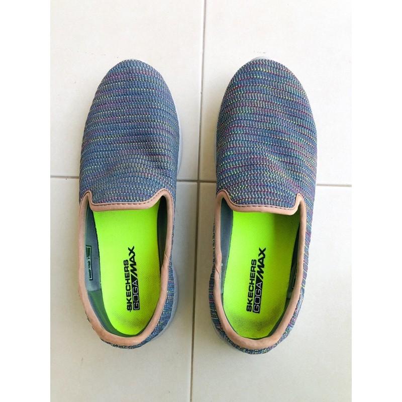 Skechers สเก็ตเชอร์ส รองเท้าผ้าใบ รองเท้าลำลอง ผู้หญิง Go Walk 4 มือสอง ของแท้ 100%