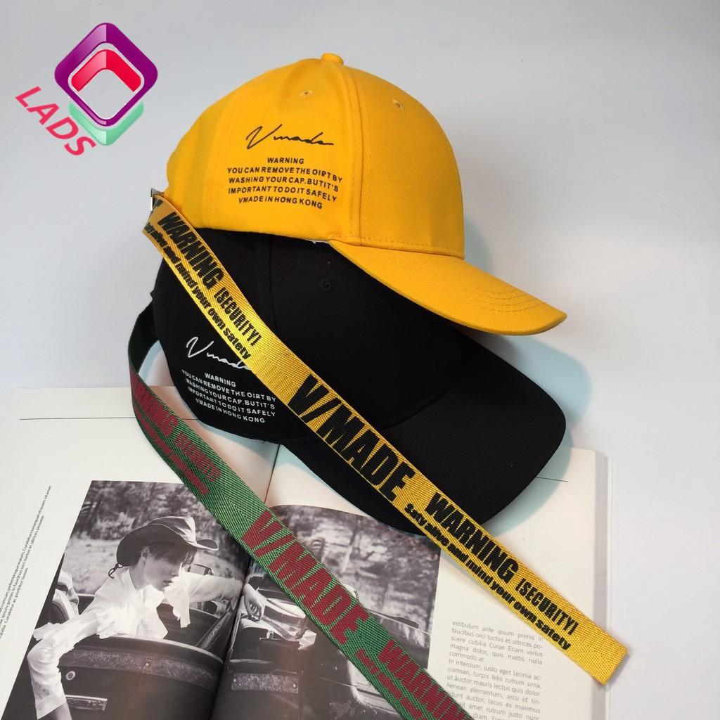 LADS หมวกแก๊ปสไตล์เกาหลี พิมพ์ลายข้
