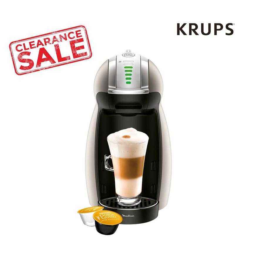 เครื่องทำกาแฟแคปซูล KRUPS Nescafe Dolce Gusto รุ่น KP160T66 Genio