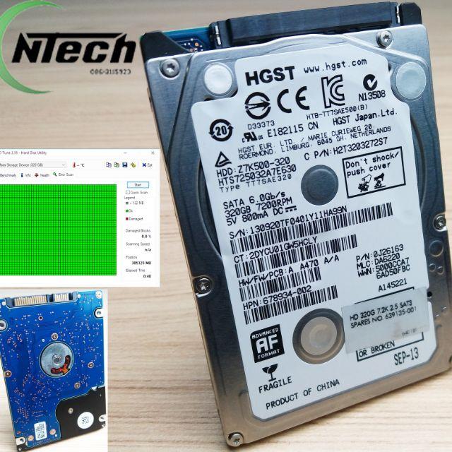 "320gb USB 3.0 2.5/"" External Hard Drive Hitachi WD or similar Toshiba"