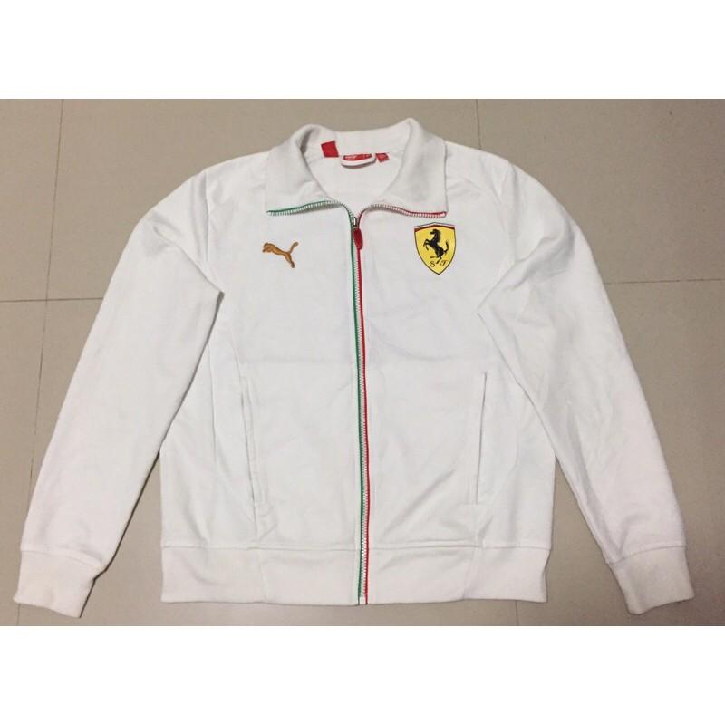 เสื้อแจ็กเก็ตแขนยาว puma x ferrari แท้