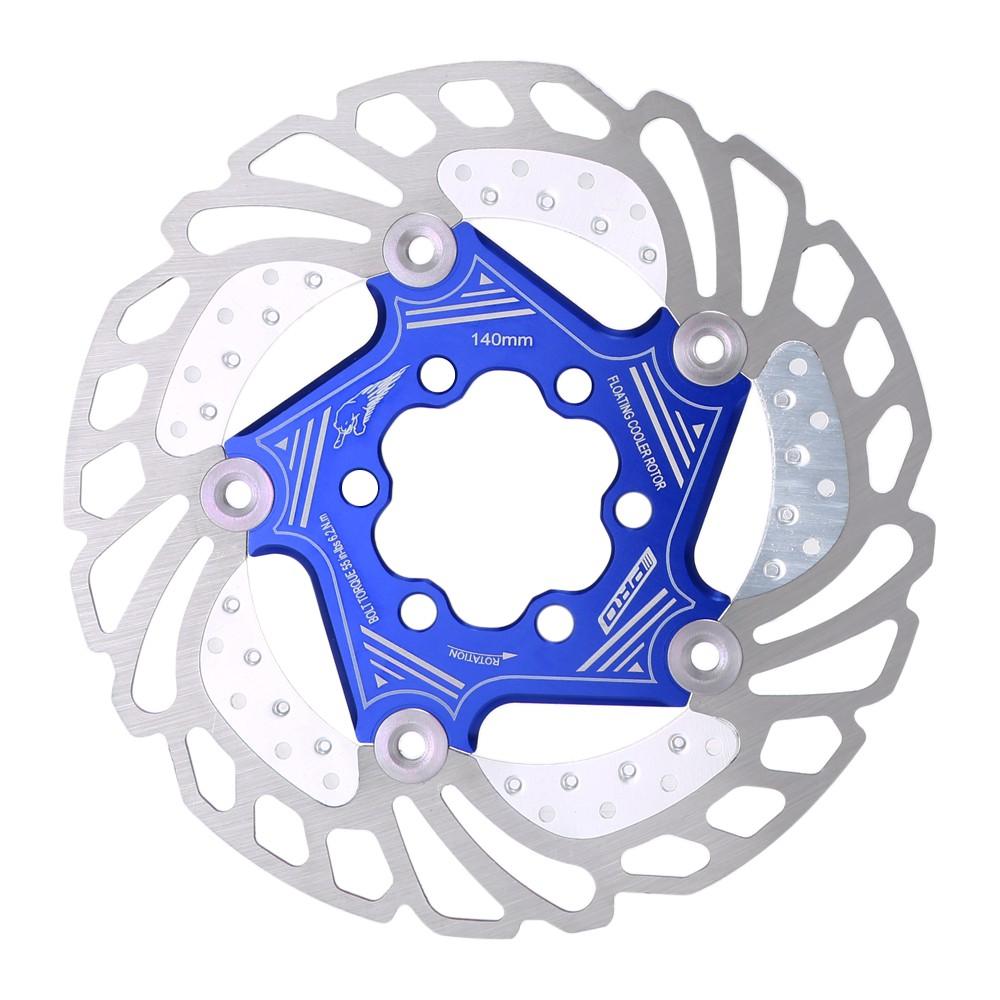 New Mountain Bike Bicycle Brake Disc Floating Cooling Rotor 160mm