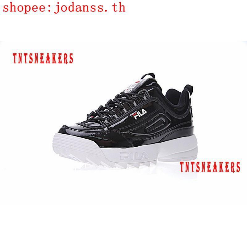 Fila DISRUPTOR II 2 รองเท้าผ้าใบรองเท้าวิ่ง 7