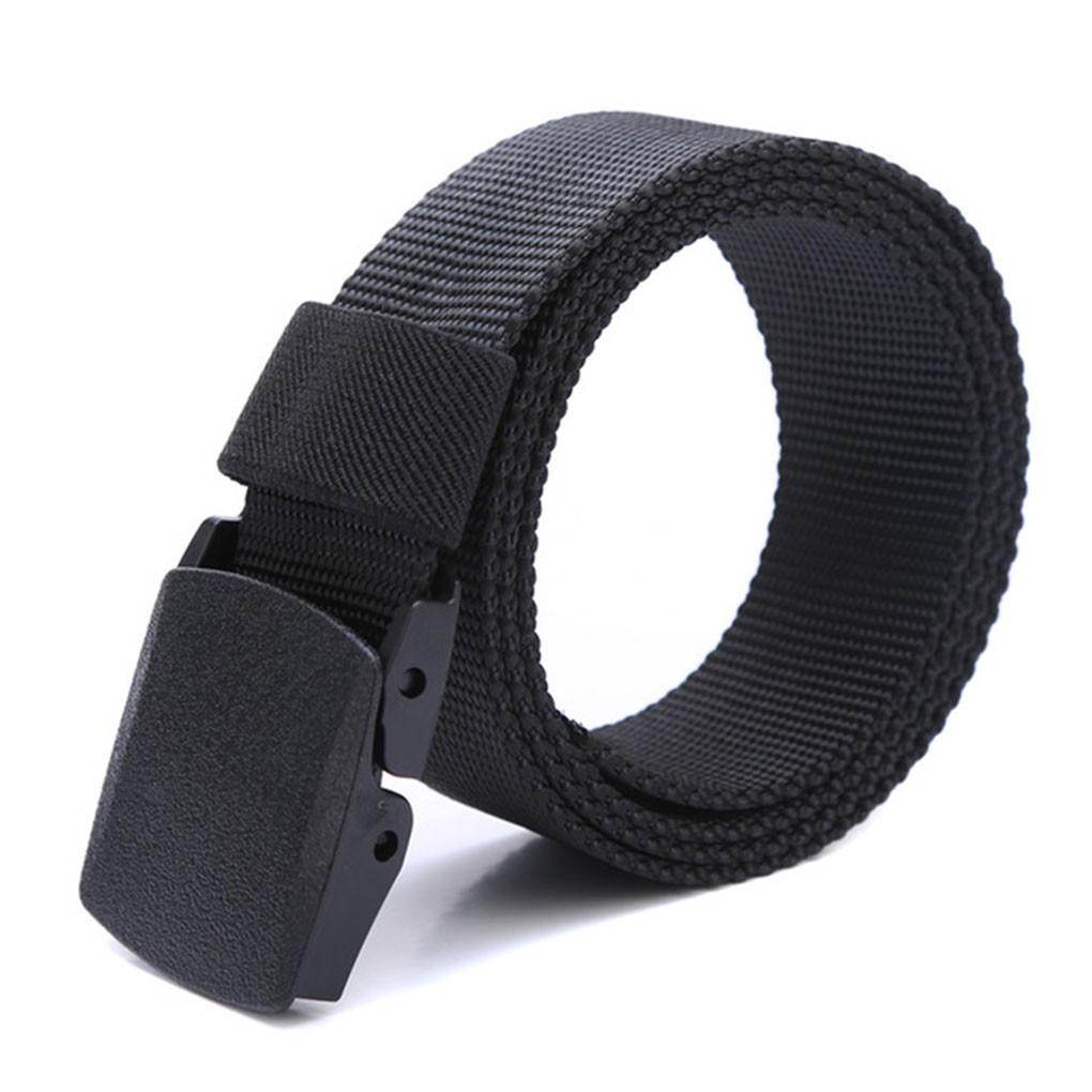 Aเข็มขัดผู้ชายผ้าใบระบายอากาศเข็มขัดพลาสติกเข็มขัดกู้ภัย CroB