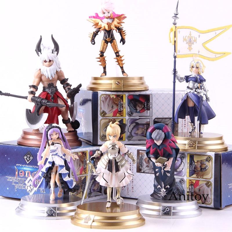 FGO Fate Grand Order Saber Berserket Lancer Ruler Archer Fate Action Figure  Toy