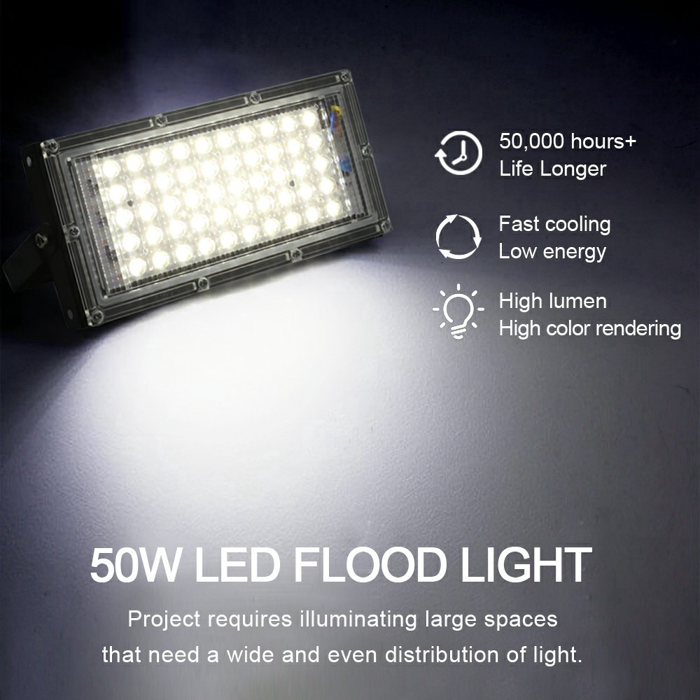 12W IP65 LED road street light flood light street lamp neutral white for outdoor