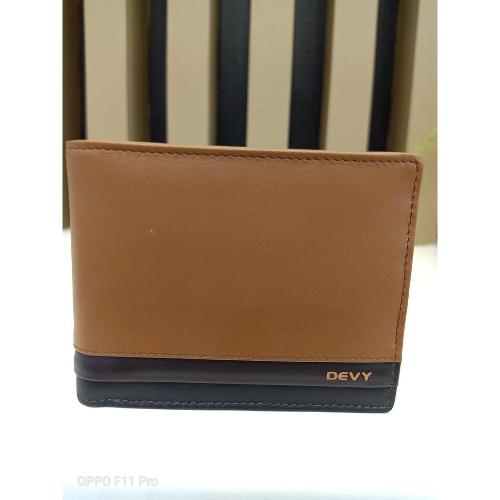 กระเป๋าธนบัตรบุรุษแบบครึ่งใบ Devy รุ่น 834