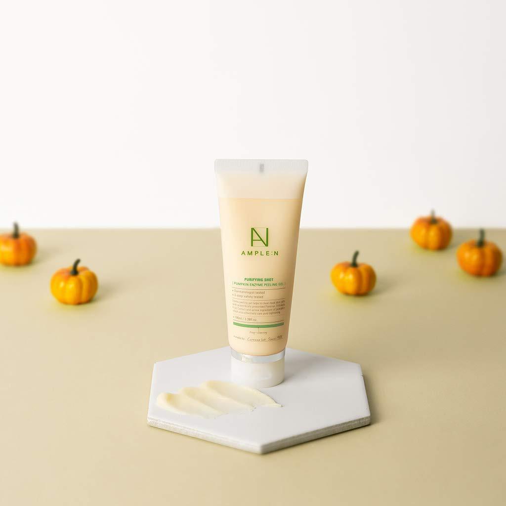 ผลการค้นหารูปภาพสำหรับ Coreana Ample :N Purifying Shot Pumpkin Enzyme Peeling Gel 100 ml.