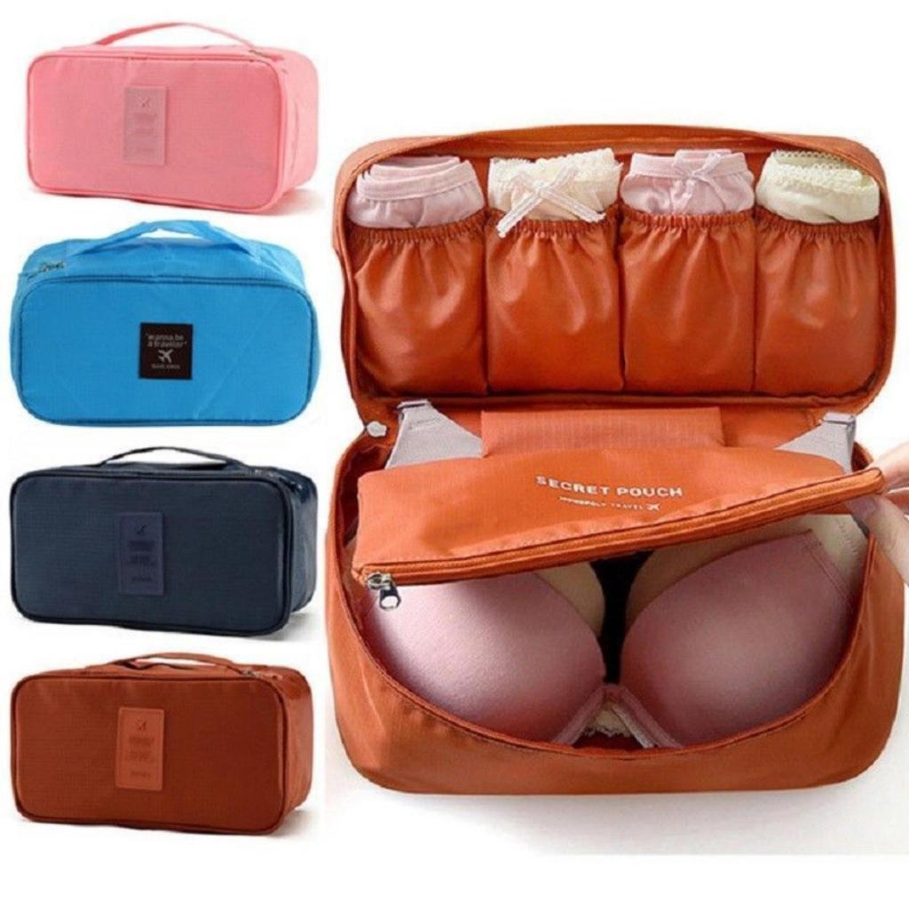 Underware Poch กระเป๋าใส่ชุดชั้นใน กระเป๋าจัดระเบียบ กระเป๋าเดินทาง กระเป๋าหิ้วใบเล็ก กระเป๋า กางเกงใน เสื้อใน บิกีนี่nd